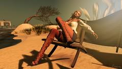 waiting for the summer (Geey) Tags: original shoes mesh secondlife kc belleza tlc maitreya slink