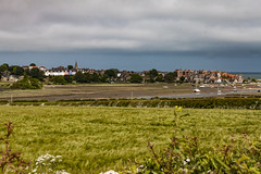 Alnmouth (Alex_Wyatt_Photos) Tags: uk sea england canon boats coast north east northumberland alnmouth cottages