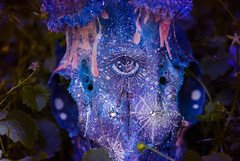 [Cosmogony of the Soul] (Koala Krash) Tags: cute eye stars skull decay galaxy morbid bone cosmic roe thirdeye