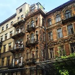 Warsaw facadesurban pastiche (jmironava) Tags: facade exterior oldnew