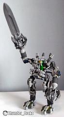 Exo-Suit Sword MOC (Lego set 21109) (Thunder_Drako) Tags: lego moc exosuit exo suit 21109 own creation gun sword classic space