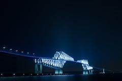 DSC04504 (Zengame) Tags: bridge japan architecture night zeiss tokyo sony illumination landmark illuminated cc jp creativecommons    distagon     wakasu   a6300  tokyogatebridge   distagontfe35mmf14za fe35mmf14 6300 distagonfe35mmf14