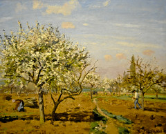 Camille Pissarro - Orchard in Bloom, Louveciennes, 1872 at National Gallery of Art Washington DC (mbell1975) Tags: sf from ca art museum painting french landscape for washingtondc smithsonian dc washington san francisco gallery museu fine arts honor orchard musée musee m national impressionism museo museums intimate camille impression impressionist muzeum legion nga viewed pissarro müze 1872 famsf also museumuseum sfnga bloomlouveciennes