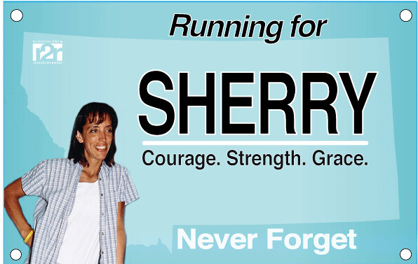 virtual run for SHERRY ARNOLD