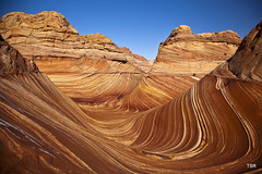 The Wave (doveoggi) Tags: arizona hike thewave coyotebuttes 0890 vermillioncliffsnationalmonument bestcapturesaoi elitegalleryaoi