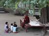 The Lesson (cormend) Tags: travel boy girl canon children eos asia tour robe burma monk can tourist class monastery myanmar teaching southeast teach bagan birmanie 50d nattaungkyaung cormend