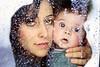 15/365(+1) (Luca Rossini) Tags: portrait woman baby snow ice window water project 50mm drops minolta f14 sony 100v10f adapter frame 365 nex7 3651daysofnex7