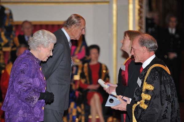 The Queens Anniversary Prizes, February 2012