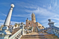 Sitges. Barcelona.- (ancama_99(toni)) Tags: pictures barcelona old city travel blue sky urban espaa color building art architecture buildings geotagged photography photo spain arquitectura edificios nikon espanha europa europe cityscape foto photos antique religion edificio picture iglesia photographic catalonia tokina ciudades cielo fotos architektur catalunya iglesias fotografia espagne sitges hdr catalua catalan spanien spagna 2012 pasoscatalans citys fotografas d60 catalogne fotowalk 10favs 10faves nikond60 25favs 25faves impressedbeauty 1116mm ancama99 saariysqualitypictures mygearandme