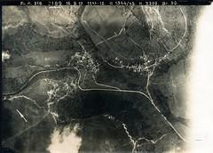 Aerial photograph of the front lines, taken by aircraft from Fliegerabteilung (Artillerie) 216, 16 September 1917 (✠ drakegoodman ✠) Tags: aircraft debris aeroplane trench worldwarone artillery ww1 battlefield greatwar destroyed firstworldwar worldwar1 germanarmy trenchwarfare