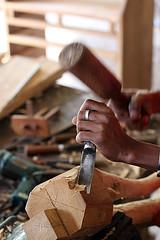 Choppy-Wood (For91days) Tags: statues carving elephants kandy rainbowtree schnitzen