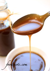 Homemade Caramel Sauce (Recipe Snob) Tags: light brown ice recipe dessert corn sauce cream sugar desserts caramel homemade butter vanilla syrup recipes heavy karo topper topping extract