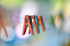 Pegs (Alexandre Moreau | Photography) Tags: abstract thailand photography nikon focus colours bokeh laundry pegs nikkor85mmf14