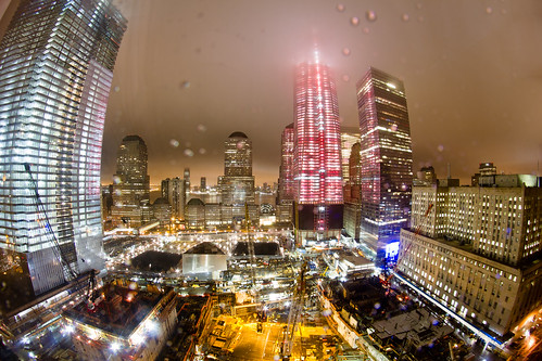 One World Trade Center Progress March 2, 2012