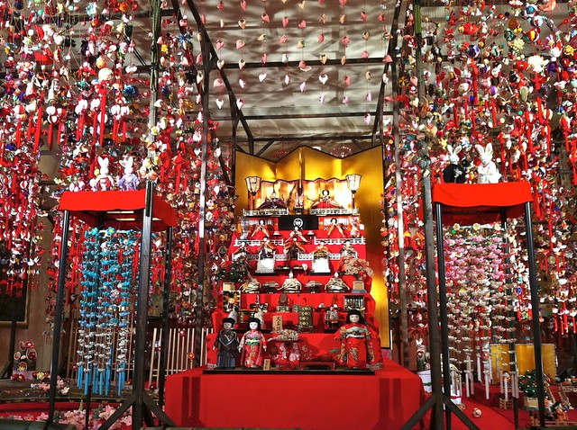 Elaborate Hina Matusuri Display