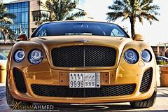 BENTLEY (Hesham Ahmed's) Tags: cars car continental saudi bentley ksa supersports