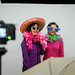 The photo booth was a popular destination during the Employee Appreciation Day festivities.