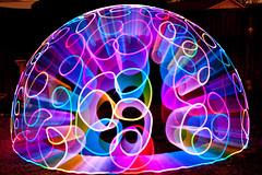 Electromagnetic Spectrum (TxPilot) Tags: longexposure light lightpainting art night painting photography lights graffiti nikon long exposure paint contest led lap lighttrails movinglights lightgraffiti lightpaint v24 lightemittingdiode ineedaname lenser d700 lightgraf lightartphotography acrylicrod lightpaintingtoolscom lptv24plus tooltest rgbledlightwand