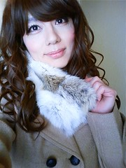 my winter outfit :) (Sweetflower Yui) Tags: winter japan fur asian japanese tv outfit cd coat tgirl tranny transvestite crossdresser ladyboy yui