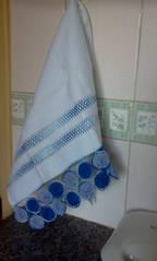 (M. Inês) Tags: crochet artesanato fuxico bordado croche vagonite panodeprato