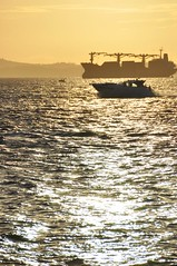 Ponta do Humaitá - Salvador, Brasil (carolborges) Tags: beach boat sundown salvador pontadohumaitá