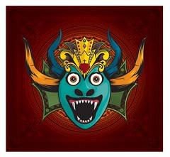 De Yare Inspirado En Las Mascaras De Los Diablos Danzantes De Yare Los