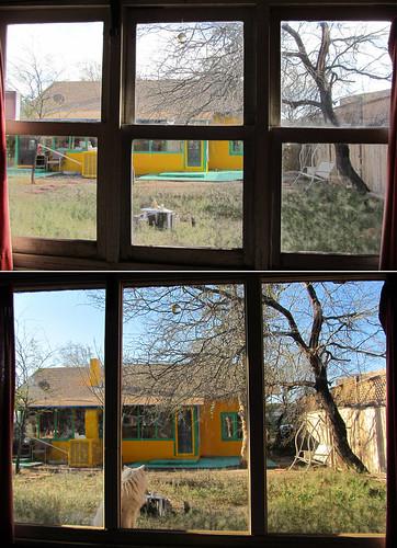 windows office backyard guesthouse wildmustard plateglass singleglaze