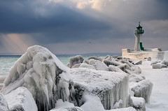 About the Cold and Lighthouse (Dietrich Bojko Photographie) Tags: winter sea lighthouse ice germany deutschland europe balticsea iced rgen ostsee ruegen mecklenburgvorpommern sassnitz dietrichbojko