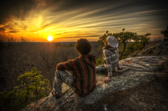 Young Love (Frank C. Grace (Trig Photography)) Tags: sunset love youth ma couple massachusetts young warmth hdr freetown massasoit stateforest tonemapped profilerock blinkagain ckopsy joshuatisdale joshuasmountain