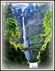 Multnomah Falls ~ Oregon (Onasill ~ Bill Badzo - 60 Million Views - Thank Yo) Tags: county usa 30 oregon river us highway veil or scenic columbia tourist falls historic hwy route gorge register bridal multnomah attraction 84 nrhp onasill