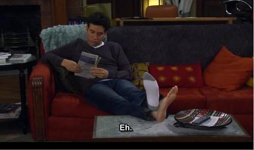 Josh Radnor feet - a p...