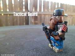 Call Sign: Tactical Beard (Grant Me Your Bacon!) Tags: modern beard military awesome badass ak tiny custom spec 47 ops ak47 tactical brickarms