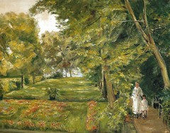Max Liebermann - The Artist's Granddaughter with the Governerness in the Wannsee Garden, 1923 at Museo Thyssen-Bornemisza Madrid Spain (mbell1975) Tags: madrid max art museum garden painting landscape spain gallery museu with fine arts muse musee m espana granddaughter artists museo thyssen muzeum wannsee the mze liebermann thyssenbornemisza bornemisza museumuseum governerness
