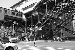 harlem nyc (pspyro2009) Tags: nyc bw newyork harlem manhattan x100 125street harlemnyc