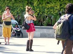 London Photographer (Waterford_Man) Tags: people london trafalgarsquare tourists paths