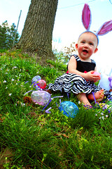 Lucy - Easter 2012 (share your widsom) Tags: baby easter children toddler child