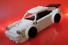 Zeto Porsche (ORRANGE.) Tags: white car deutschland lego 911 vince porsche orrange 930 zeto