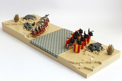 Roman Civil War (peggyjdb) Tags: rocks desert roman juliuscaesar northafrica civilwar romanroad thapsus legions legionaries contubernium metellusscipio