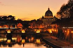 sunset's emotion (edoardo.gobattoni) Tags: sunset rome roma tramonto cupola dome speter spietro supershot kurtpeiserexcellence
