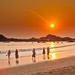 Om Beach Sunset