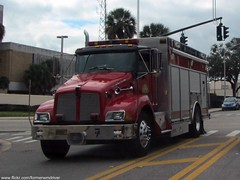 Orlando Fire Department - Air 7 (FormerWMDriver) Tags: rescue truck fire support air vehicle emergency firedepartment dept kw kenworth cityoforlando