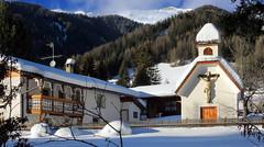Winter im Pfitschtal (mikiitaly) Tags: schnee winter italy berge kreuz südtirol altoadige kapelle wals pfitschtal pfitsch elementsorganizer