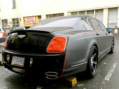 mansory bentley flying spur (rgibbsphotography) Tags: canada black cars vancouver grey bc wheels columbia exotic klassen modified british spotted supercar bentley spotting matte exotics supercars tuned mansory