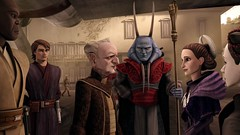 Back on where he came from (dodkalm72) Tags: starwars palpatine queen padme anakin clonewars macewindu masamedda neeyutnee