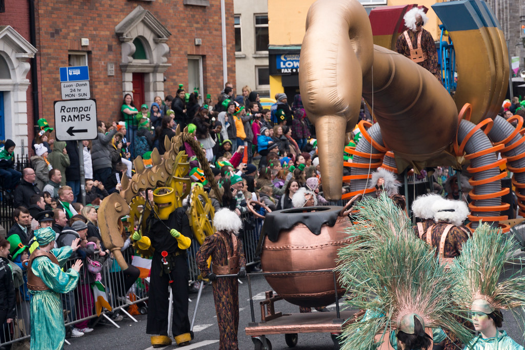 2012 Patrick's Day Parade In Dublin