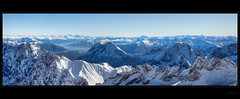 Alps with a view (Kemoauc) Tags: alps alpes view pano tomb alpen hdr zugspitze d90 photomatix kemoauc
