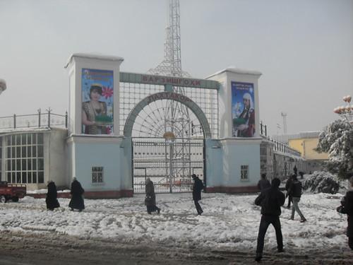 Последствия снегопада в Курган-тюбе (7)