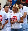 Sam Faiers Sainsbury's Sport Relief Mile 2012 - London