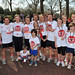 Mike Bushell, Susannah Reid, Charlie Stayt, Louise Minchin Sainsbury's Sport Relief Mile 2012 - London