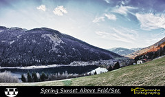 Spring Sunset Above Feld/See (Pyranha Photography | 1250k views - THX) Tags: sunset canon photography eos austria sterreich google high flickr dynamic feld krnten carinthia pi ren getty plus range hdr gettyimages facebook amsee pyranha twitter mirnock radenthein 60d brennsee gegendtal pyranhaphotography googleplus renpi